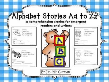 Alphabet Stories A to Z (comprehension stories for emergen