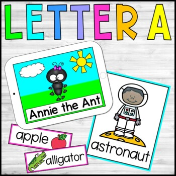 Alphabet Stories and Crafts - The Letter A