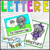 Alphabet Stories and Crafts - The Letter E