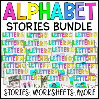 Alphabet Stories and Crafts - VOWEL BUNDLE