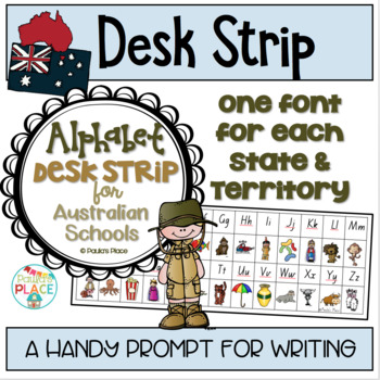 Alphabet Strip Australian Fonts