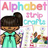 Alphabet Letter Sounds Strip Crafts
