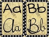 Alphabet Strip - Half Sheet - Harry Potter Theme