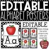 Alphabet Strip {Polka Dot and Red}