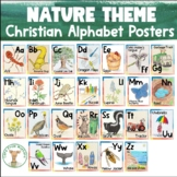 Alphabet Posters for Classroom - Christian School Version