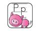 Alphabet Strip: Scrappy Animal Edition