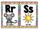 Alphabet Strip in Spanish for Wall Rainbow (Alfabeto para la pared)