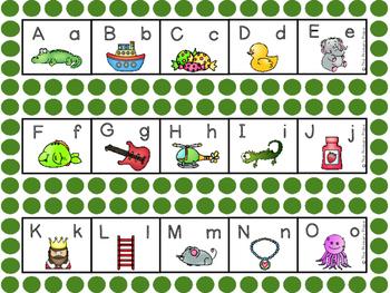 Alphabet Strips