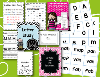 Alphabet Study and Reading Bundle