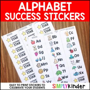 Alphabet Success Stickers