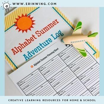 Alphabet Summer Learning Pack
