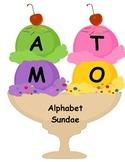 Alphabet Sundae