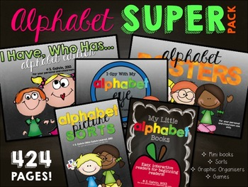 Alphabet Work Super Bundle