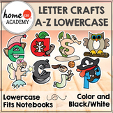 Alphabet Interactive Notebook (LOWERCASE) - Letter Craft A