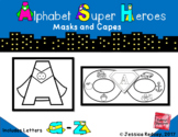 Alphabet Super Hero Masks and Cape (REMOTE LEARNING- SCREE
