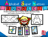 Alphabet Super Heroes Bundle (REMOTE LEARNING- SCREEN FREE
