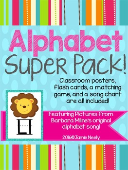 Sounds Like Fun Alphabet Song Super Pack
