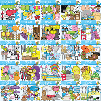 Alphabet Clipart Super Set