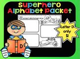 Alphabet Superhero Letter D