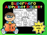 Alphabet Superhero Letter E