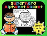 Alphabet Superhero Letter G