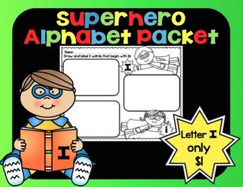 Alphabet Superhero Letter Ii