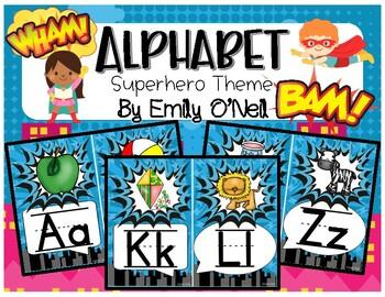 Alphabet (Superhero Theme)