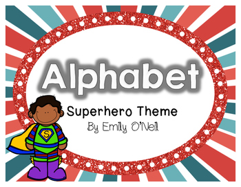 Alphabet (Superhero Theme)