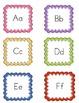 Alphabet Supervisor Label Cards