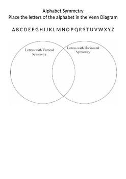 Alphabet Symmetry
