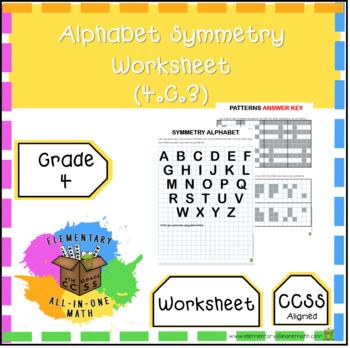 Alphabet Symmetry Teaching Resources Teachers Pay Teachers
