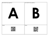 Alphabet Symmetry - Interactive QR Code Bulletin Board Option!