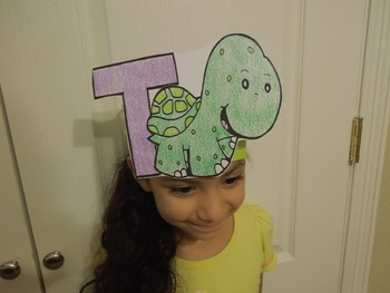 """Alphabet """"T is for tortuga"""" Spanish hat patterns (5 versions)"""