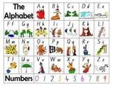 Alphabet Table Mat- NSW font
