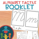 Alphabet Tactile Book : Cursive
