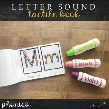 Alphabet Tactile Book : Print