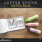 Alphabet Tactile Book : Print