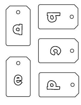 Alphabet Tags