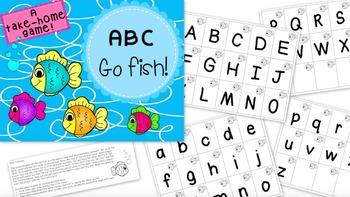 Alphabet Take-Home Games Bundle