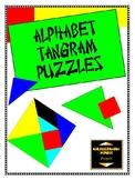 Alphabet Tangram Puzzles