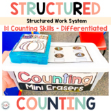 Counting Task Boxes for Preschool and Special Education Ma