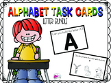 Letter Task Card Bundle