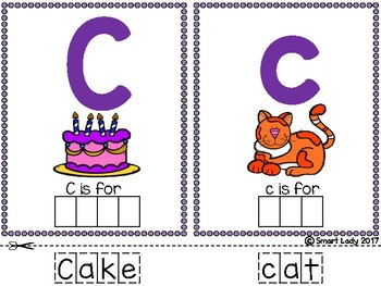 Alphabet Task Card Upper and Lowercase