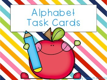 Common Core Alphabet Task Cards