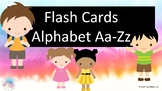 Alphabet Flash Cards-Upper and Lower Case Letters
