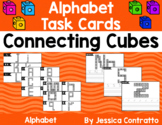 Alphabet Task Cards: Connecting Cubes