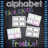 Alphabet Task Cards *FREEBIE*