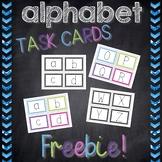 Alphabet Task Cards *FREEBIE*