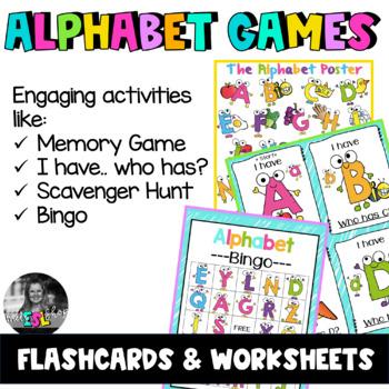 ESL Alphabet Games- Flashcards & Games