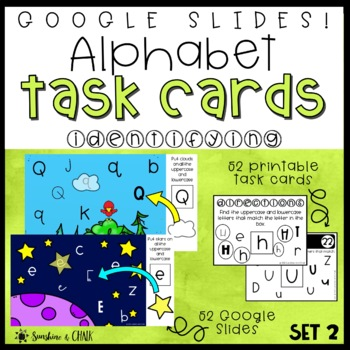 Alphabet Task Cards ❘ Letter Recognition through Search and Find